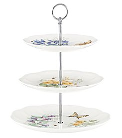 Lenox® Butterfly Meadow 3-Tiered Serve Tray