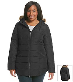 Ruff Hewn Plus Size Down Blend Puffer Coat