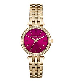 Michael Kors® Women's Goldtone Mini Darci Watch