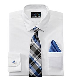 Alexander Julian® Men's 5 Piece Set Regular Fit Dress Shirt
