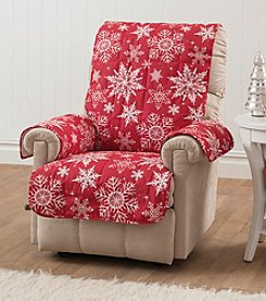 Innovative Textiles Snowflake Recliner or Chair Slipcover