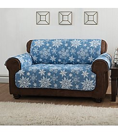Innovative Textiles Snowflake Loveseat or Sofa Slipcover