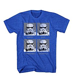 Mad Engine Men's Short Sleeve Star Wars™ Moody Trooper Graphic Tee