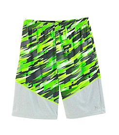 Mambo® Boys' 8-20 Geo Printed Active Shorts