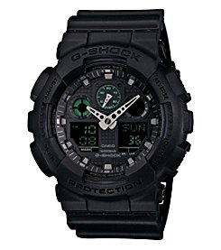 G-Shock Men's Blackout Military Watch