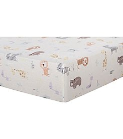 Trend Lab Crayon Jungle Flannel Crib Sheet
