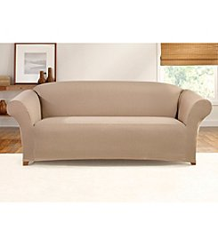 Sure Fit® Ticking Stripe Loveseat or Sofa Slipcover