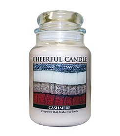 A Cheerful Giver Cashmere Candle