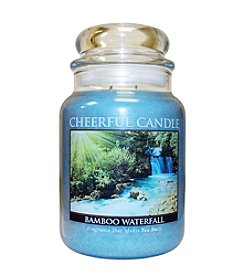 Cheerful Candle Bamboo Waterfall Candle