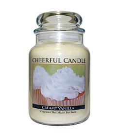 A Cheerful Giver Creamy Vanilla Candle