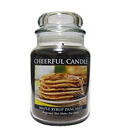Cheerful Candle Maple Syrup Pancakes Candle
