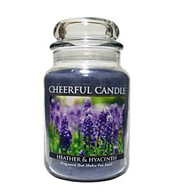 A Cheerful Giver Heather & Hyacinth Candle