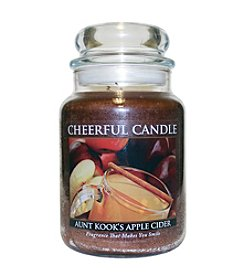 A Cheerful Giver Aunt Kook's Apple Cider Candle