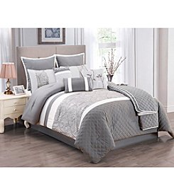 LivingQuarters Willow 10-pc. Comforter Set