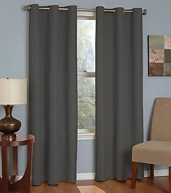 eclipse™ Microfiber Grommet Blackout Window Curtain