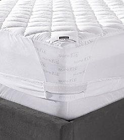 Sure Fit® Memory Foam Quilted Mattress Pad