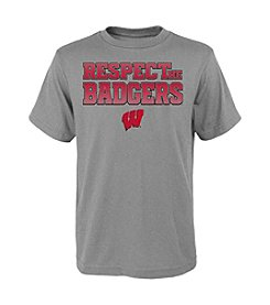 NCAA® Wisconsin 8-20 Respect Short Sleeve Tee