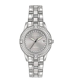Citizen® Women's Swarovski® Crystal Stainless Steel Watch