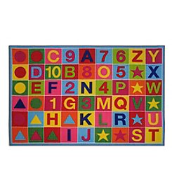 Fun Rugs® Alphanumeric Fun Rug