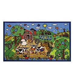 Fun Rugs® Happy Farm Rug