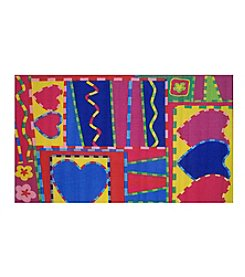 Fun Rugs® Hearts & Crafts Rug