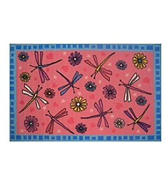Fun Rugs® Dragonflies Rug