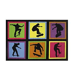 Fun Rugs® Skateboarding Fun Rug