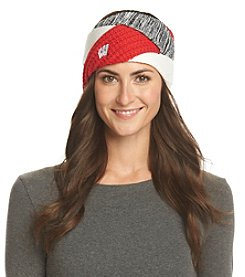 ZooZatZ™ NCAA® Wisconsin Badgers Women's Criss Cross Headband