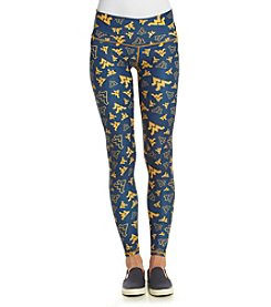 ZooZatZ™ NCAA® West Virginia Mountaineers Women's Printed Leggings