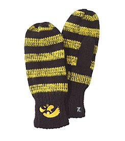 NCAA® University of Iowa Striped Mittens