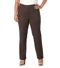 Rafaella® Plus Size Twill Pants