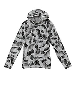 Ruff Hewn Boys' 8-20 Long Sleeve Allover Print Hoodie