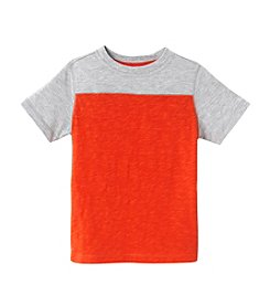 Mix & Match Boys' 2T-7 Color Block Slub Tee