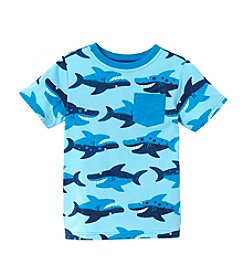 Mix & Match Boys' 2T-7 Short Sleeve Shark Tee
