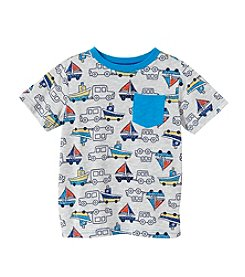 Mix & Match Boys' 2T-7 Short Sleeve Boat Tee