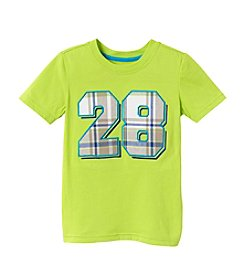 Mix & Match Boys' 2T-7 Short Sleeve Number Print Tee