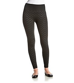 One 5 One Chevron Embossed Legging