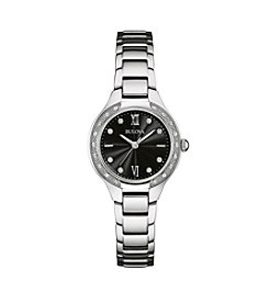 Bulova® Women's Sterling Silver Watch