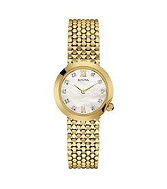 Bulova® Women's Goldtone Watch