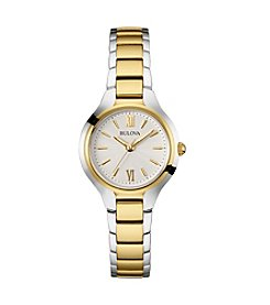 Bulova® Women's Two-Tone Watch
