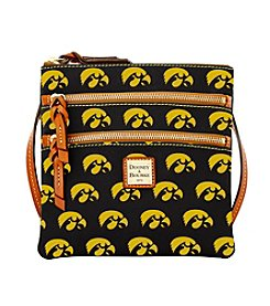 Dooney & Bourke® NCAA® Iowa Hawkeyes Triple Zip Crossbody