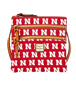 Dooney & Bourke® NCAA® Nebraska Cornhuskers Triple Zip Crossbody