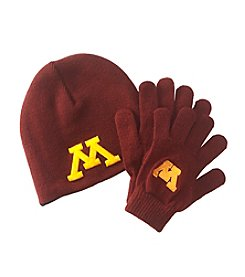 NCAA® University of Minnesota Child's Hat & Glove Set