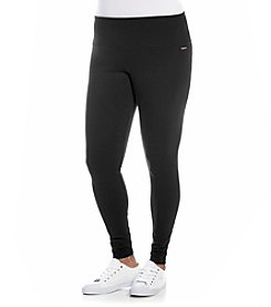 Calvin Klein Performance Plus Size Solid Leggings