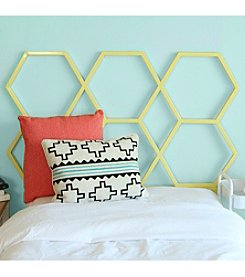 W.Designs Honeycomb Twin Size Headboard