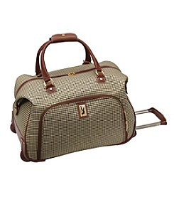 London Fog® Olive Houndstooth Cambridge 360 Ultra Light 20