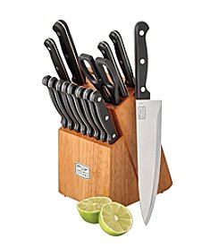 Chicago Cutlery® Essence 17-Pc. Cutlery Set