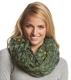 ZooZatZ™ NCAA® Michigan Wolverines Women's Marled Knit Infinity Scarf