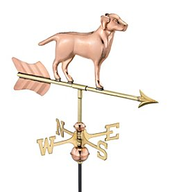 Good Directions® Polished Copper Labrador Retriever Weathervane