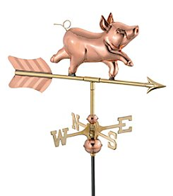 Good Directions® Whimsical Pig Weathervane